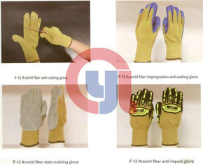 China Customized Color Anti Cut Gloves Aramid Materials For Rescue And Relief Work supplier