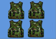 China Camouflage Aramid Vest / Bullet Proof Vest For Personal Protection Purpose company