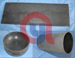 China EPDM Silicon Rubber Thermal Insulation Materials With Fantastic Ablation Resistance distributor
